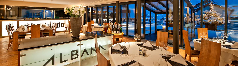 restaurants hotel albana hotel lodge thai engadine cuisine silvaplana st moritz. Black Bedroom Furniture Sets. Home Design Ideas